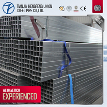 wholesale building materials electrical wire conduit pre galvanized steel square pipe