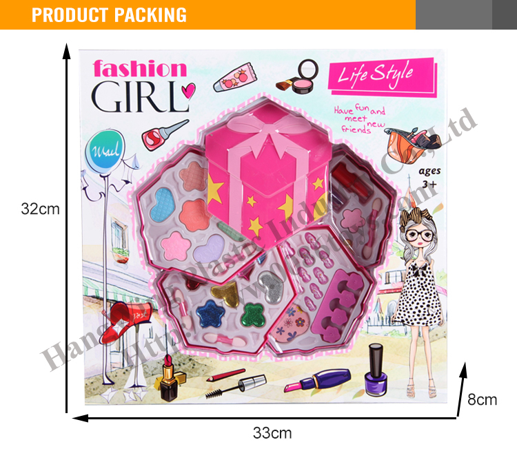 Colorful And Hot Sale New Design For Kids Beauty Play Set
