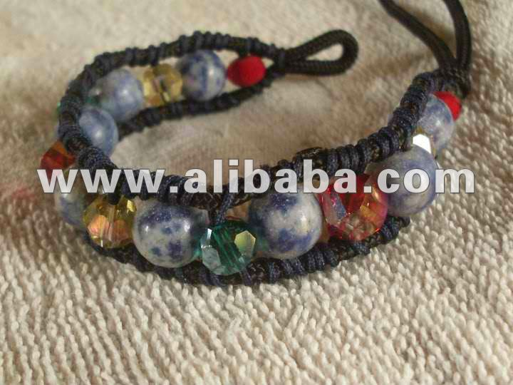 Shamballa Bracelet with Assorted Beads I
