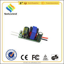 4-7W led bulb light driver with CE certification,led bulb light driver