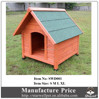 2015 Hot sale manufacture wooden cheap dog cage for sale