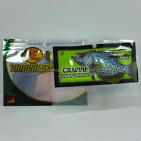 agriculture fishing bait ldpe plastic custom decorative ziplock bag
