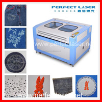 2015 low price glass laser engraving machine for textiles leather