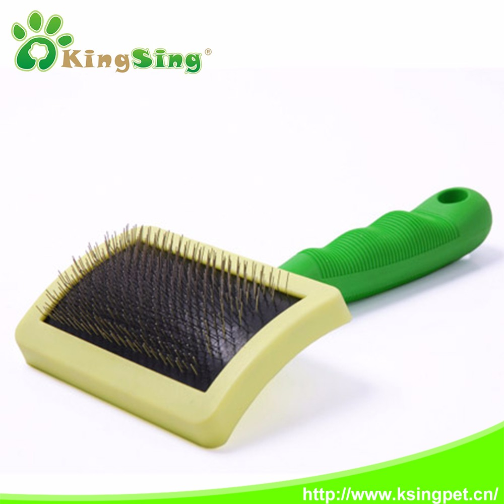 Good quality round head steel pet comb