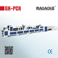 GK-780PCK Automatic cardboard fold and glue machine