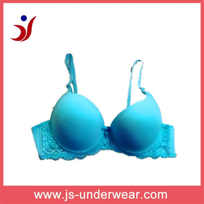 Hot selling blue sexy bra ,beautiful girls bra panty sets,ladies transparent bra photos,OEM service