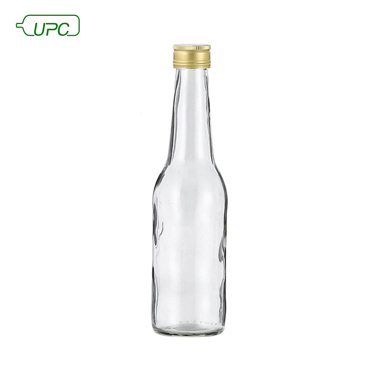 275ml flint clear glass bottle beverage container