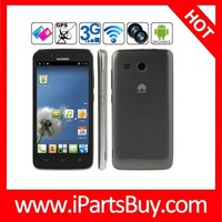 cheapest 3g android mobile phone Huawei Y511 4GB Grey, 4.5 inch Android 4.1.2 Smart Phone, MTK6572 Dual Core 1.0GHz, RAM: 512MB