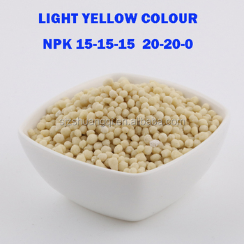 NPK Compound Fertilizer 20-20-0 15-15-15