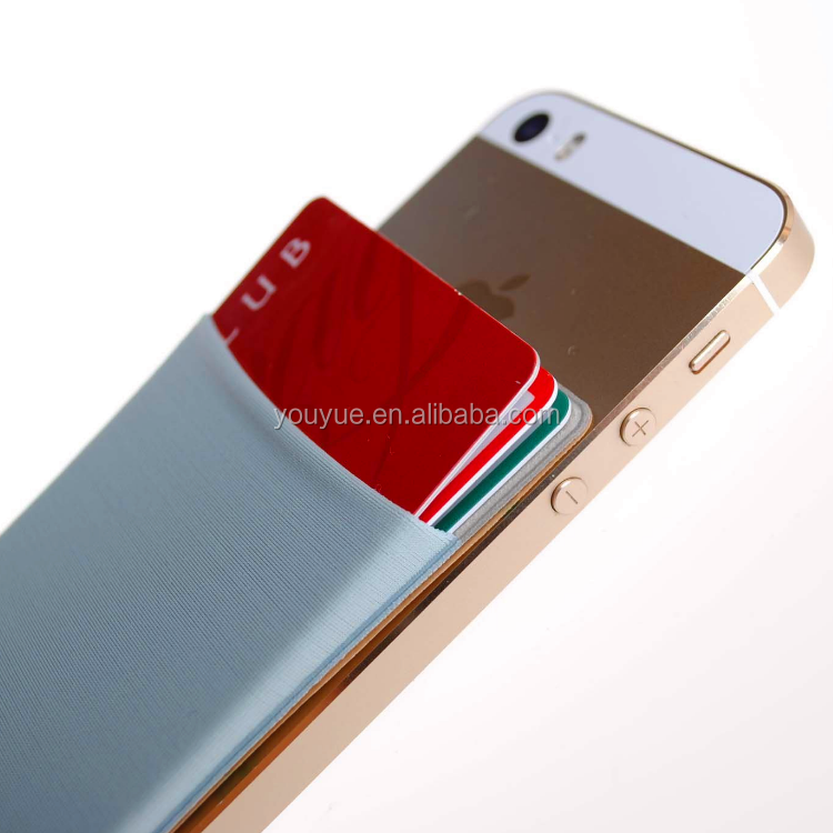 Wholesale Credit Card Holder 3M Adhesive Mobile Phone Sticker
