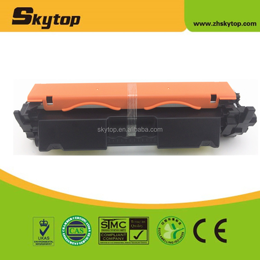 Skytop Compatible HP CF217A toner cartridge CF217 Toner with chip