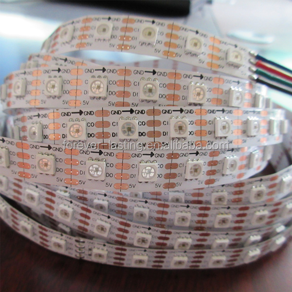 APA102 chip 72Pixel/m 72leds/m DC5V APA102 LED Strip APA102 72LED