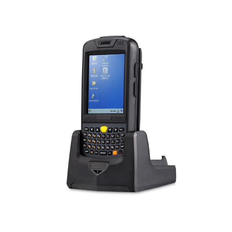 Durable wireless mobile computer rugged barcode scanner android support UHF / HF LF RFID reader