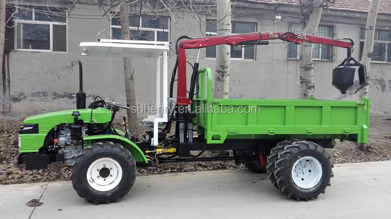 4wd Palm fruit tractor