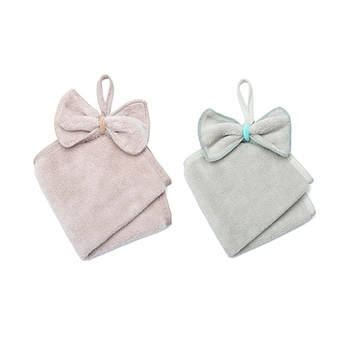wholesale microfiber dishcloth hanging kitchen towels