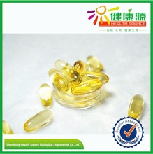 GMP certificated fish oil omega 3 EPA/DHA capsule softgel China supplier