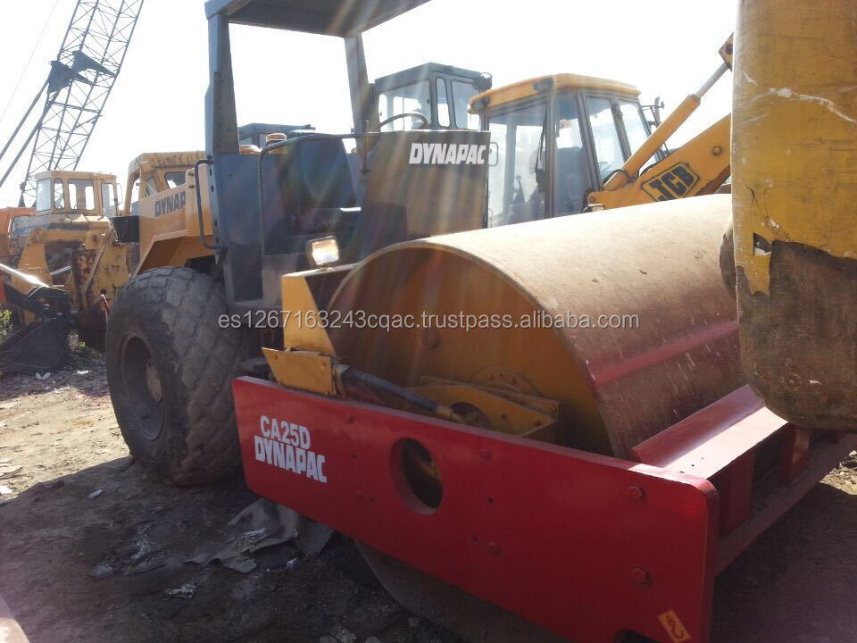 Low low price used Dynapac ca25d road roller,,second hand condition CA25D used road roller,dynapac roller CA25D