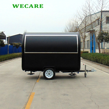 China factory mobile towable food churros vending concession trailer