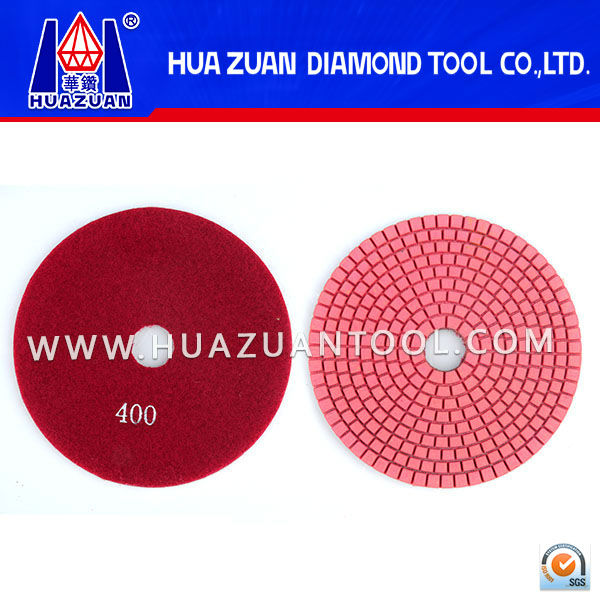 Shap-grinding/speedy glazing stone grinding pad