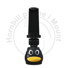 penguin phone camera mount for bottle quickclip blue tooth remote control, bottle clip