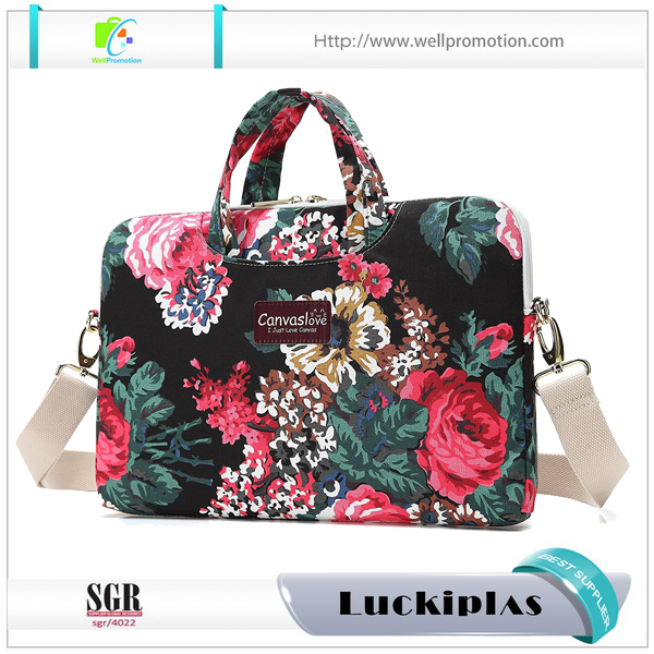 Fashion waterproof 12.5 inch messenger laptop bag for office Ladies