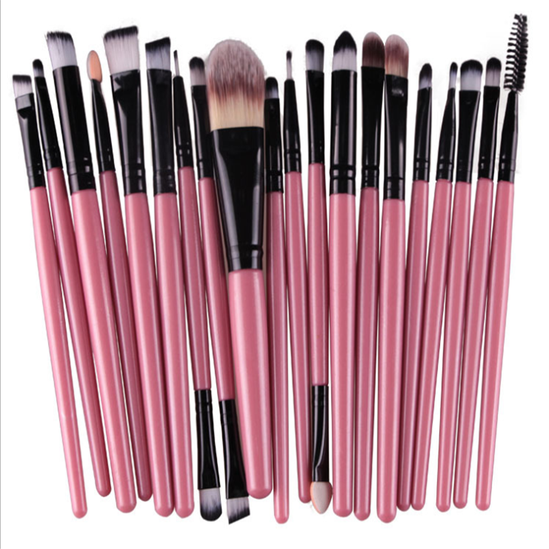 High Quality Make up Brushes 20pcs/Set Pink Professional Makeup Tools Kit