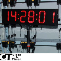 6 Digit LED Digital Timer for Marathon Races 6 Inch Timer for Sale
