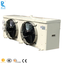 Cold Room Copper Coil Tube Evaporator For Refrigeration Cold Storage With Two Fans