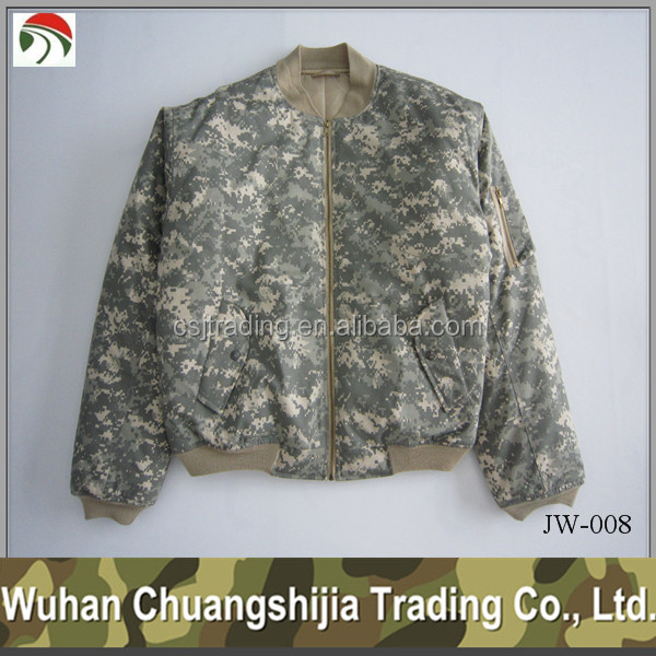 men fashion camouflage jacket