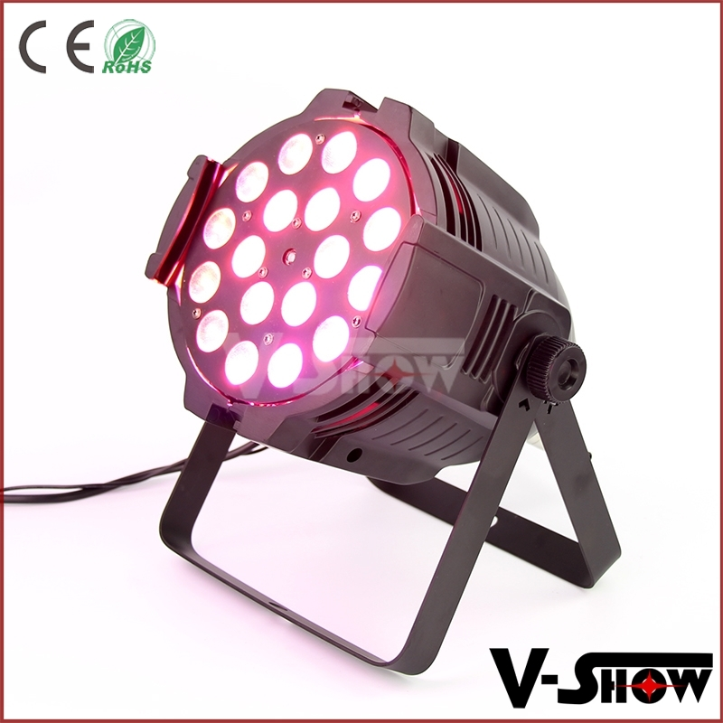 18X10W LED Par Light/Theater Stage Light/rgbwa uv 6in1 par can/ Zoom Wash Beam Lighting