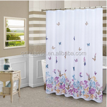 72*84 inch custom printed shower curtains, transparent shower curtains