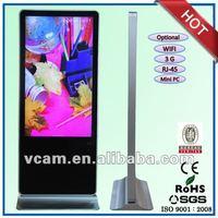 55 inch super market lcd digital display system stand Iphone Design (VP550D-1)