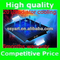 2013Hot Selling Ultra-thin Cooler Pad, 6 fan usb notebook radiator with Fashional design