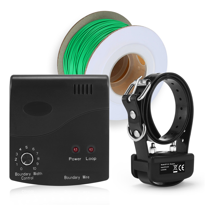 Popular electric energizer and alarm DF-112 beautiful wireless dog electric fence