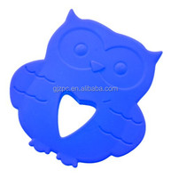 Wholesale Fantastic Chewable Silicone Owl Teether
