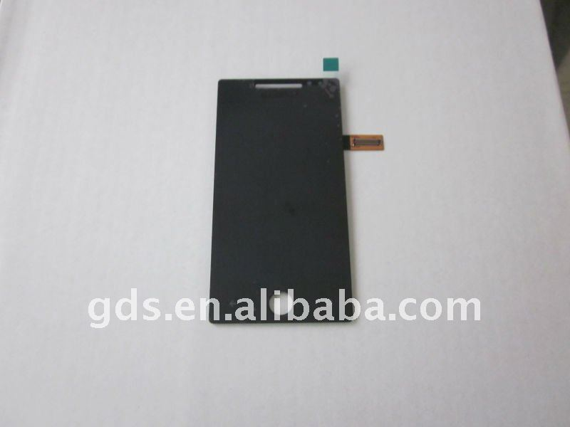 Charming Mobile Phone LCD tv Repair For Omnia 7 i8700 LCD Glass Touch Screen Module Digitizer Complete Panel