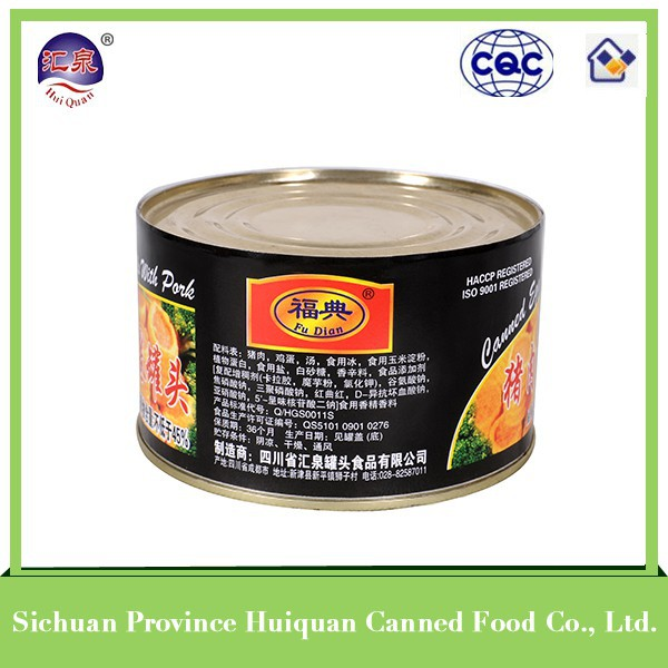 wholesale china import ham luncheon meat oem brand