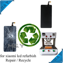Fix Broken LCD screen recycle cracked for samsung galaxy s4 gt i9505 LCD repair service, refurbish LCD screen