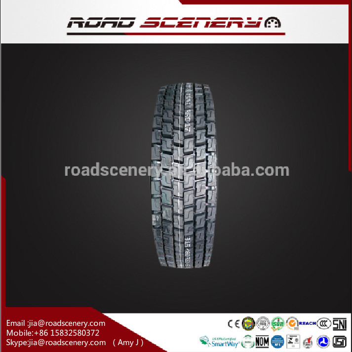 tubless truck and bus radial tires 295/80r22.5 315/70r22.5 315/80r22.5 385/65r22.5 with DOT GCC Smartway for sale