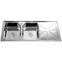 Restaurant equipment UPC undermount handmade sink JDB-12050-5