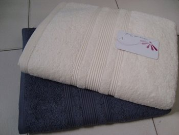 REACTIVE DYED BATH TOWEL