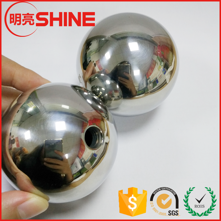 Hollow Stainless Steel Ball Decoration Sphere with Screw Hole