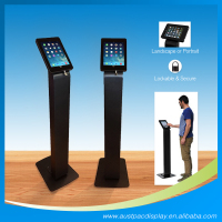 iPad Stand floor stand for ipad-black