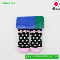 China Pet Accessories cute New arrival lovely design Dog Socks