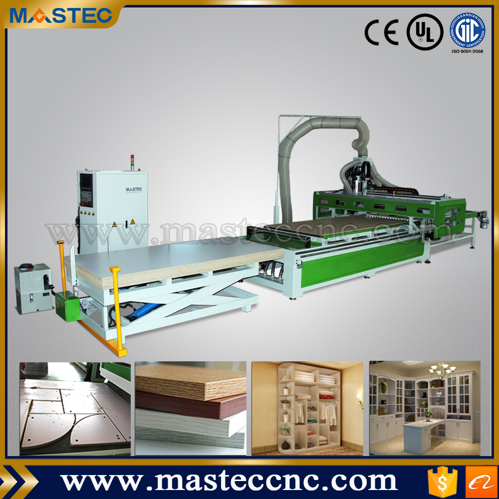 Automatic Feeding Nesting CNC Router Machine For Sale