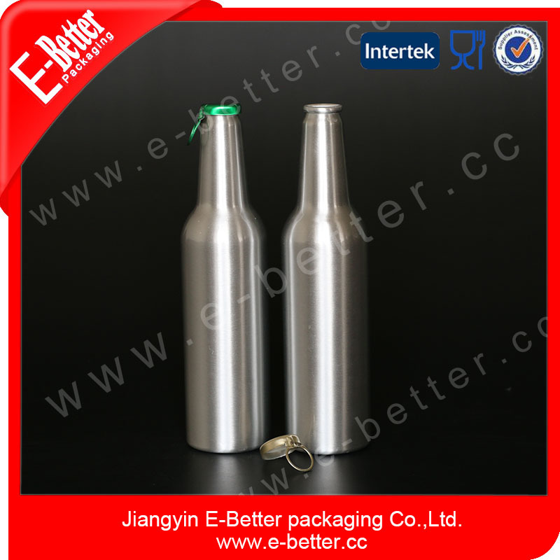 430ml eco-friendly beer aluminum packaging bottle