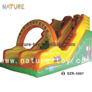 Plato PVC Material Inflatables Combo Inflatable Jumping Bouncer Inflatable Play Slide