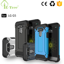Heavy Duty Dual Layer Impact Bumper Hybrid Armor Case For LG G5 Back Cover