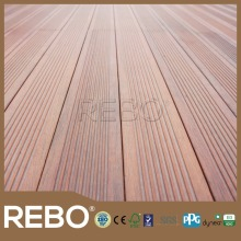 Eco-friendly outdoor strand woven bamboo decking,bamboo flooring click system
