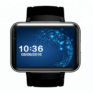 900mAh Camera WIFI 3G GPS Android 4.4 Bluetooth Smartwatch Smart Watch Phone with 2.2 inch IPS Screen